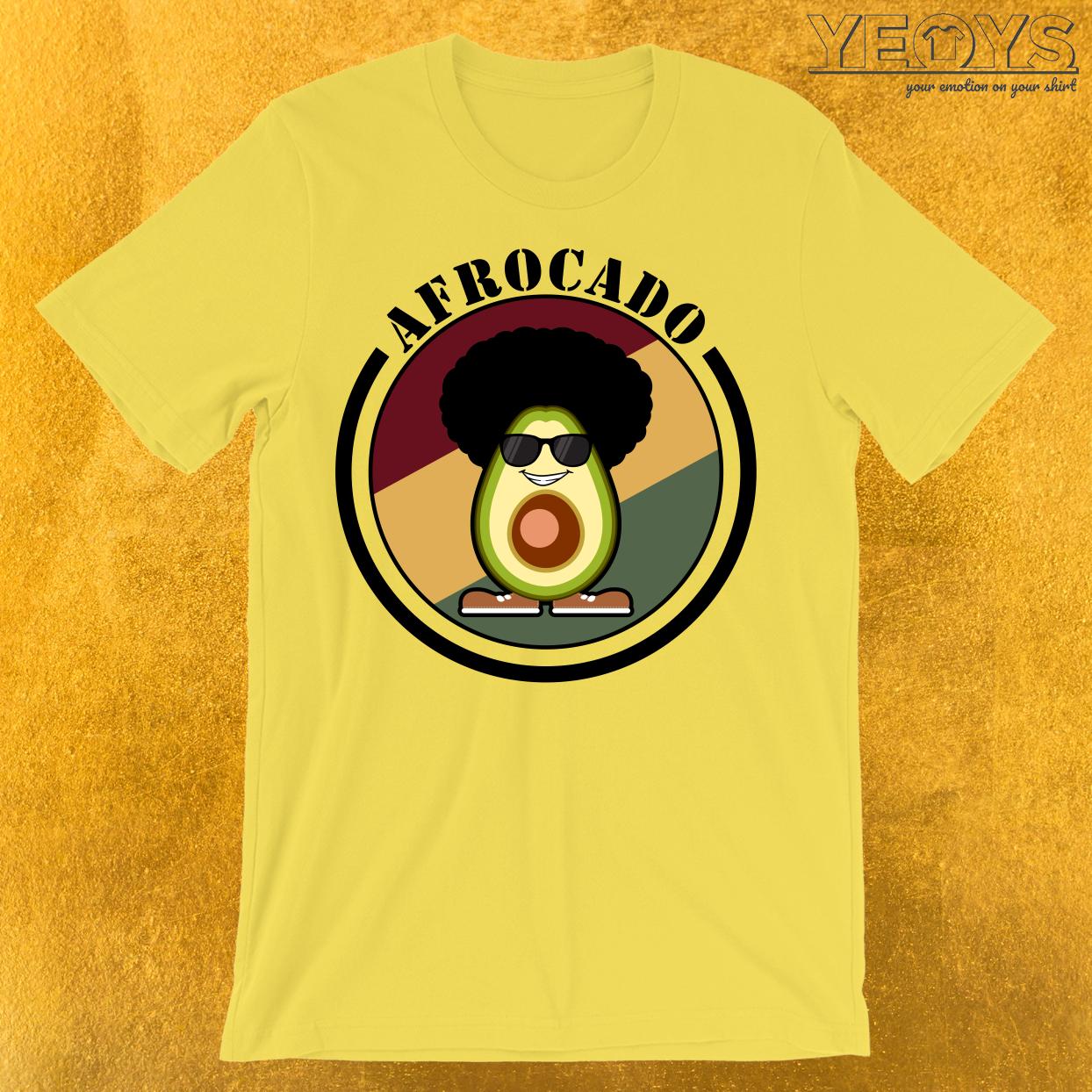 Afrocado Funny Avocado Pun T-Shirt