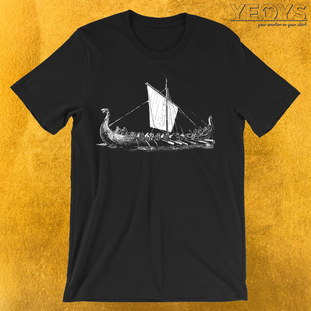 Viking Boat T-Shirt
