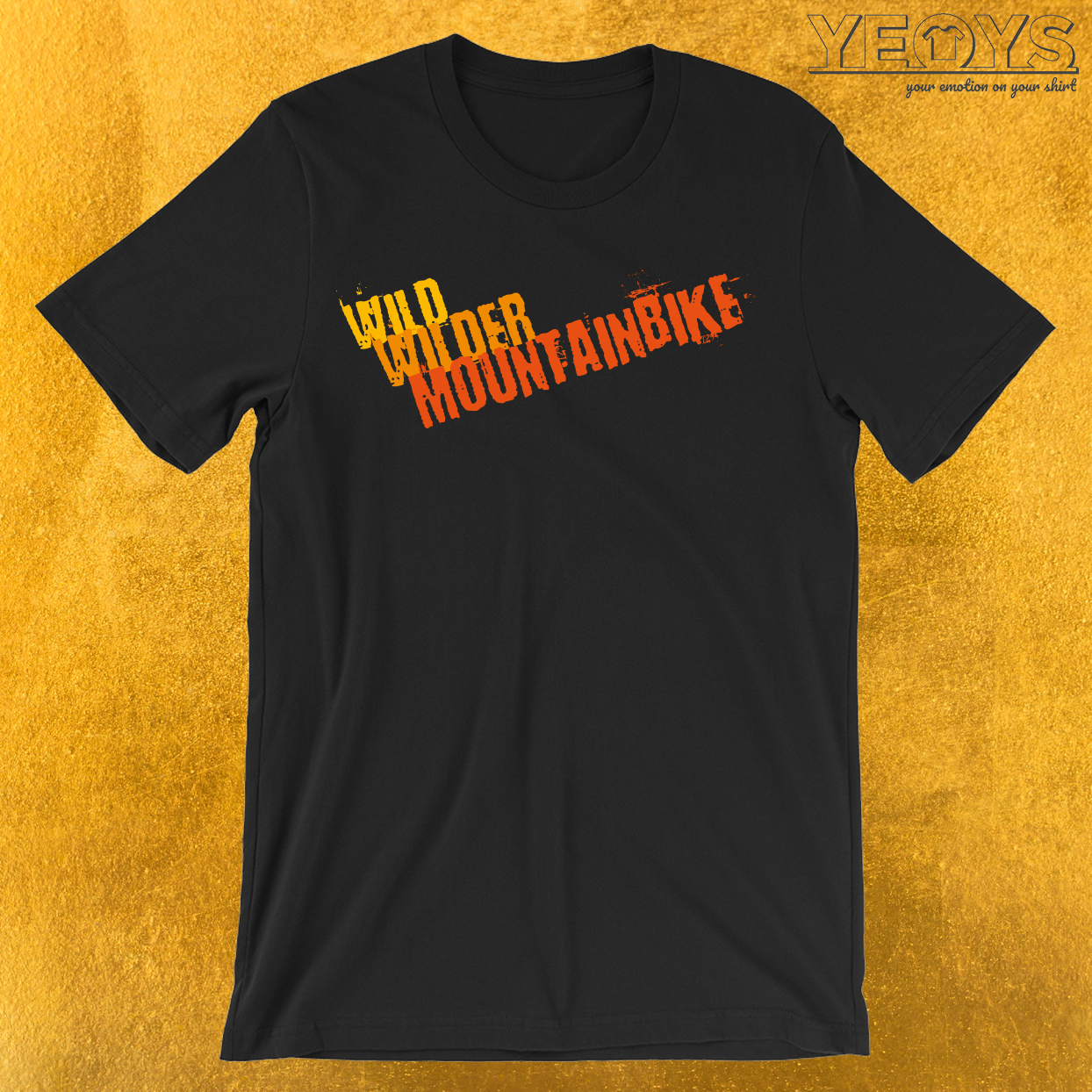 Wild Wilder Mountainbike T-Shirt