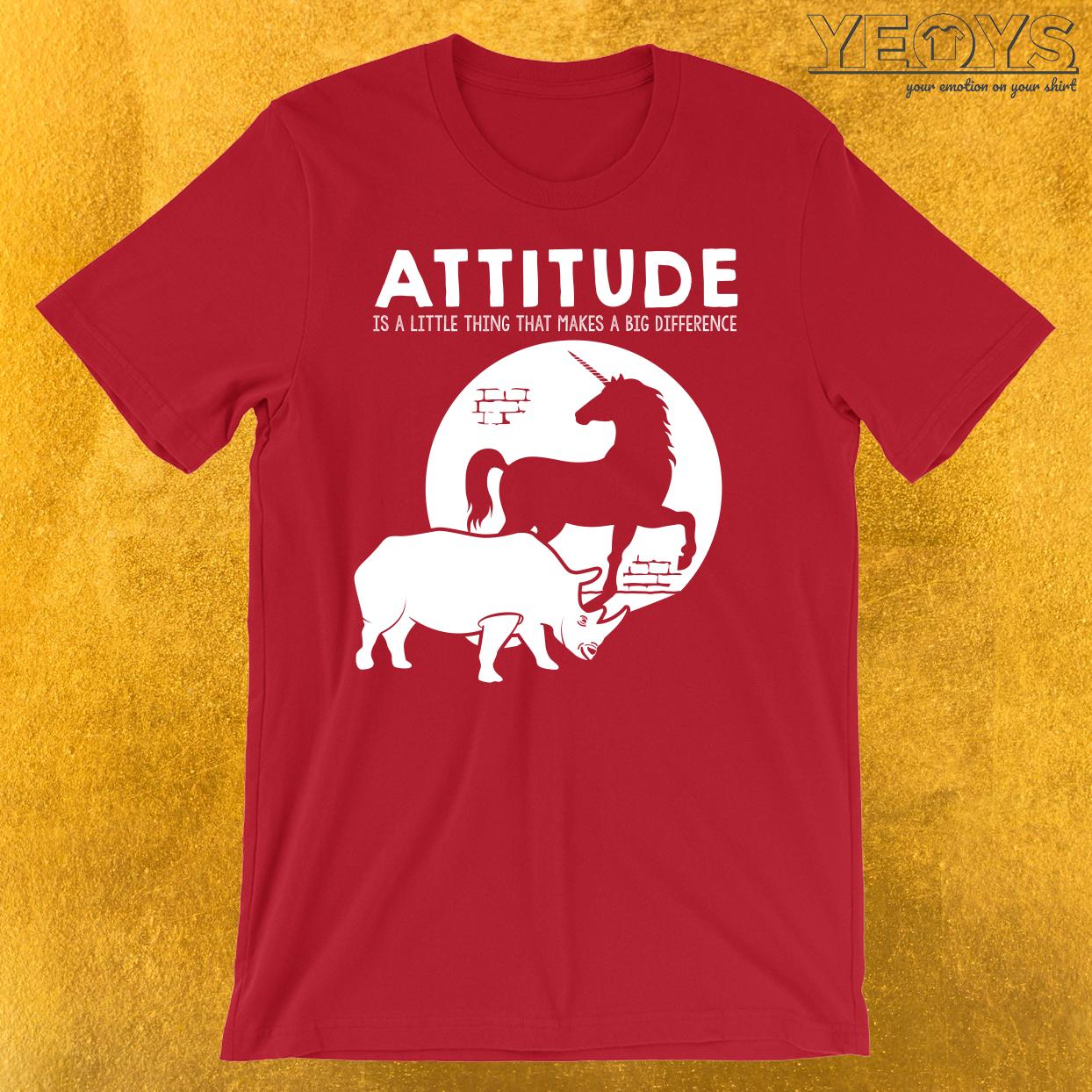 Rhino Unicorn Attitude T-Shirt