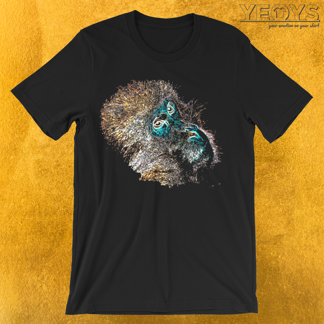 Colorful Monkey T-Shirt