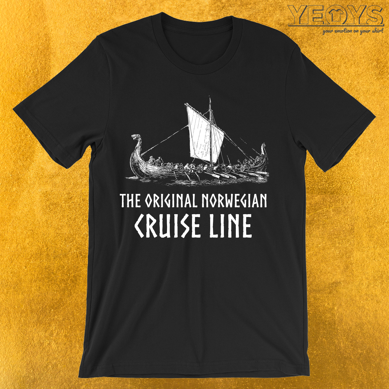 Viking Ship Cruise Line T-Shirt