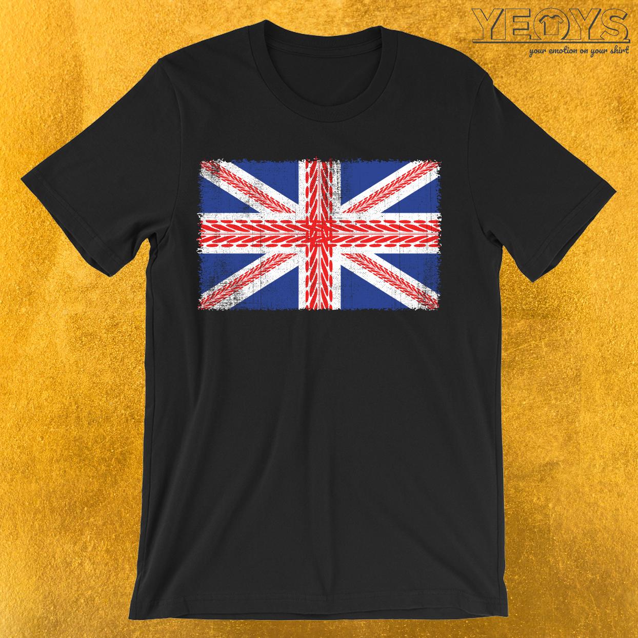 UK Flag Mountainbike T-Shirt
