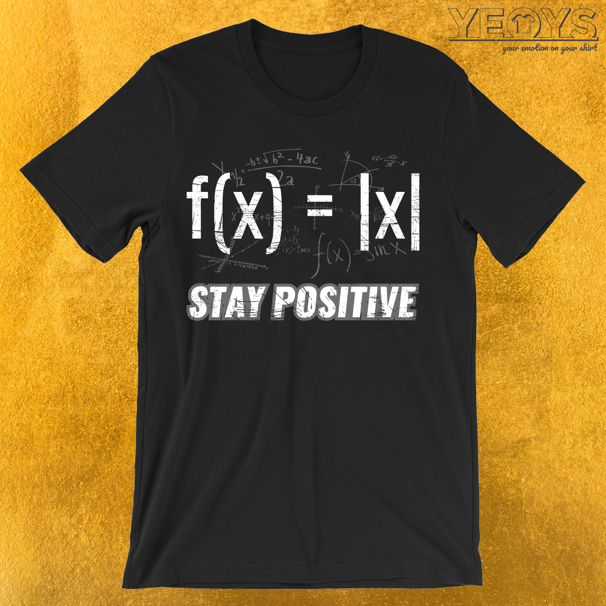 Stay Positive Avoid Negativity T-Shirt
