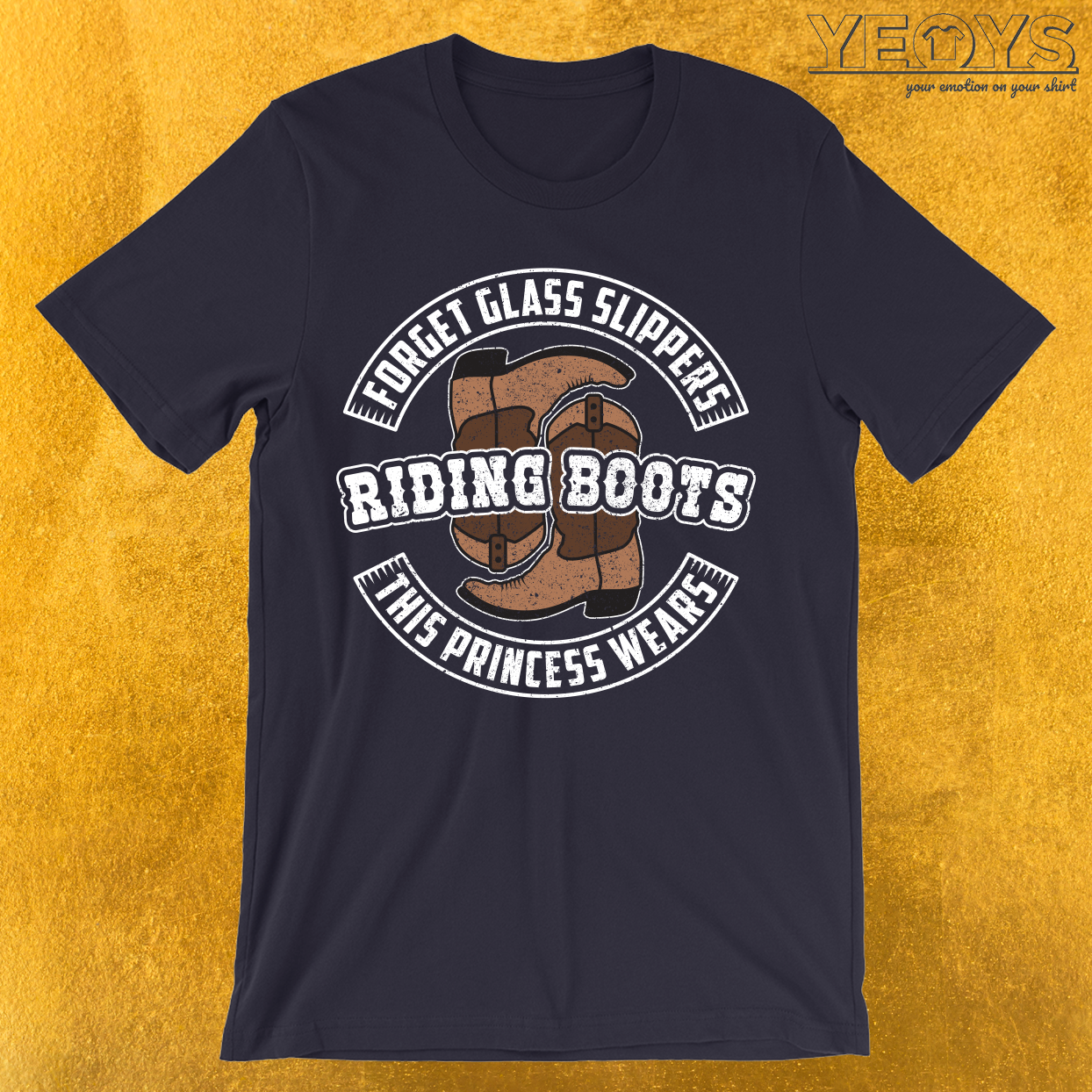 This Princess Wears Riding Boots T-Shirt
