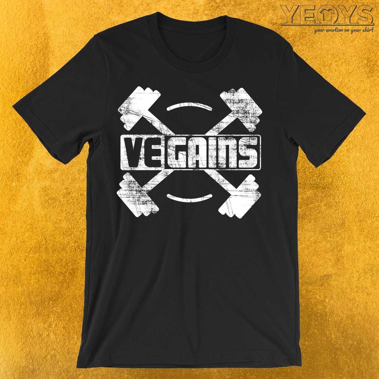 Vegains Vegan Muscle Power T-Shirt