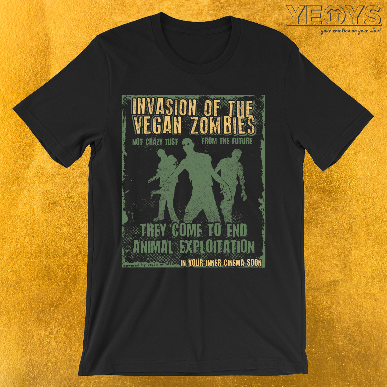 Invasion Of The Vegan Zombies T-Shirt