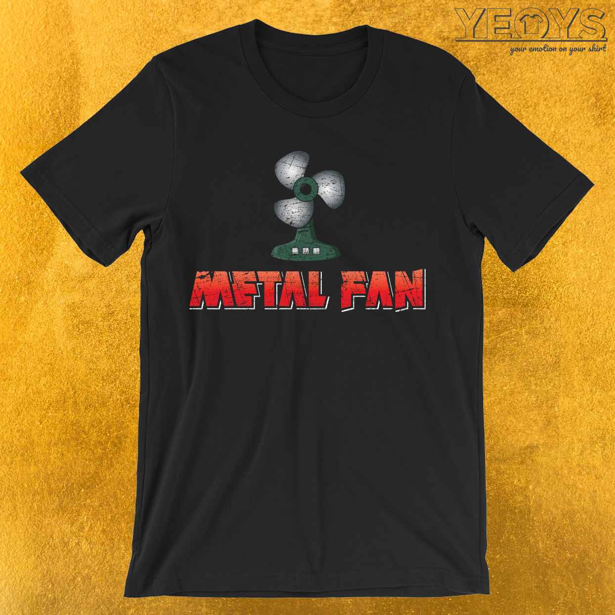 Heavy Metal Fan Funny Pun T-Shirt
