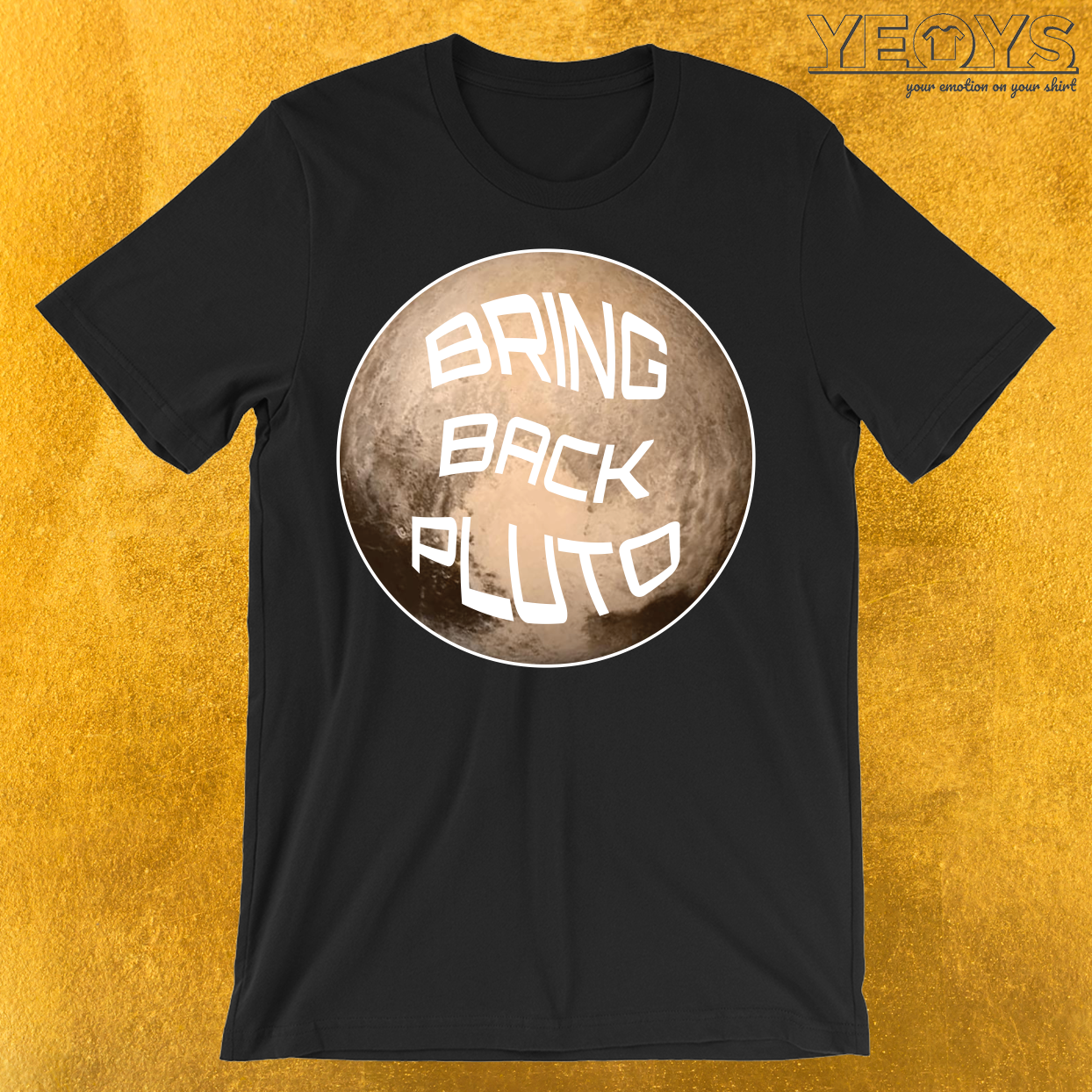 Bring Back Pluto It's A Planet T-Shirt