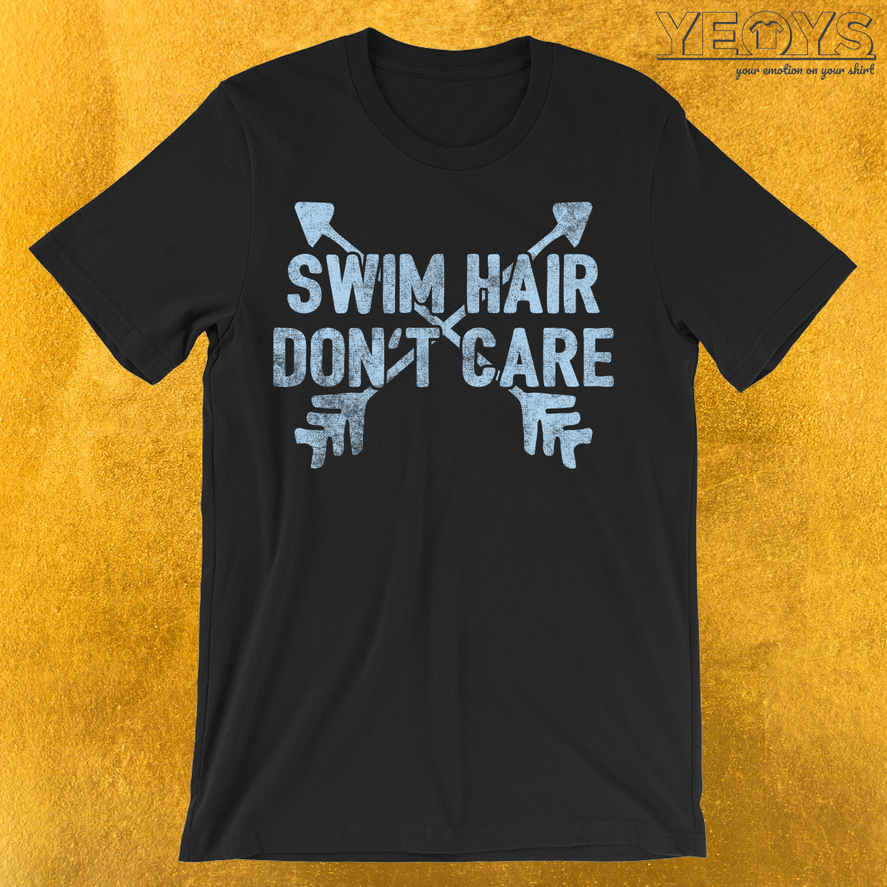 Swim Hair Don't care T-Shirt