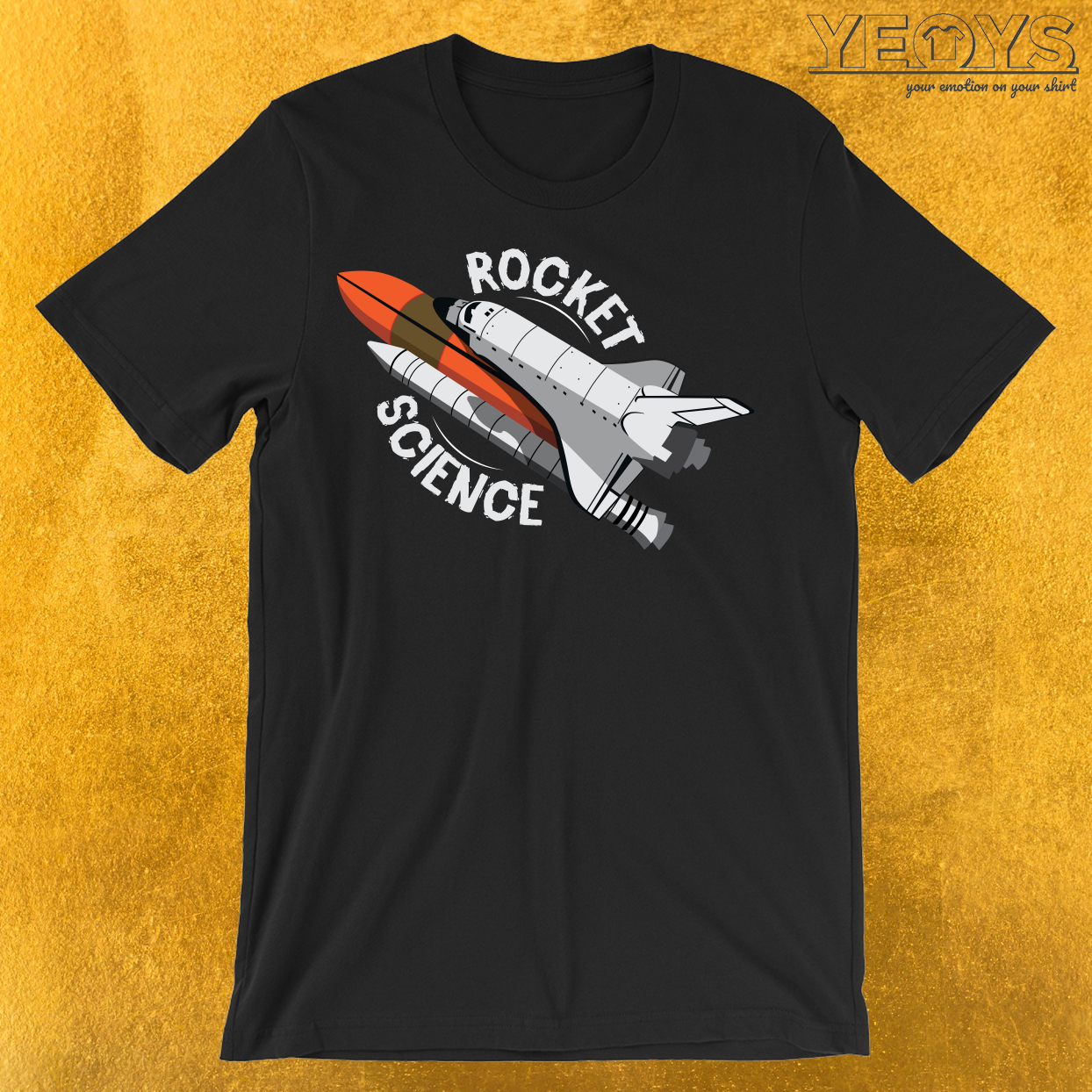 Rocket Science Space Shuttle T-Shirt