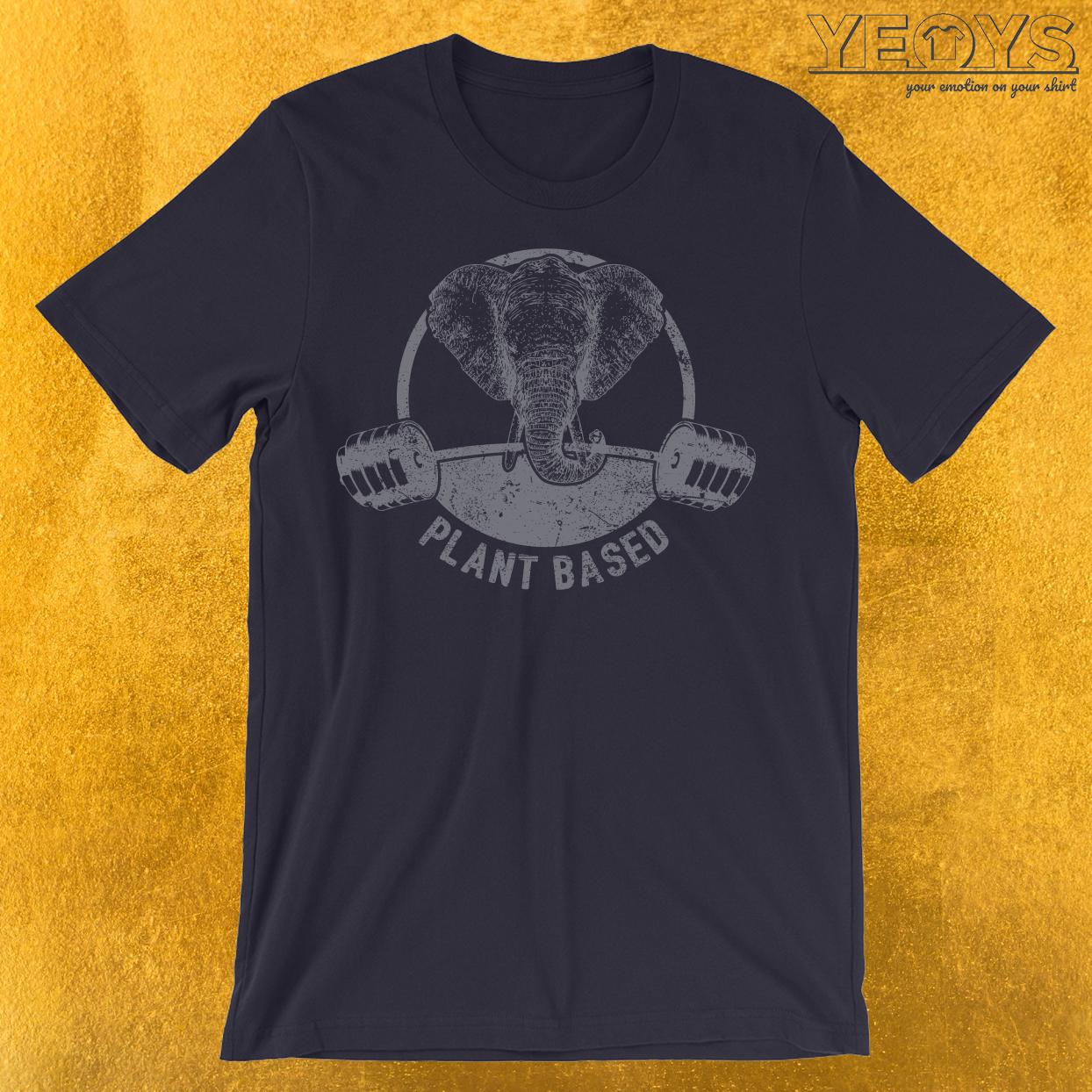 Plant Based Vegan Elephant T-Shirt