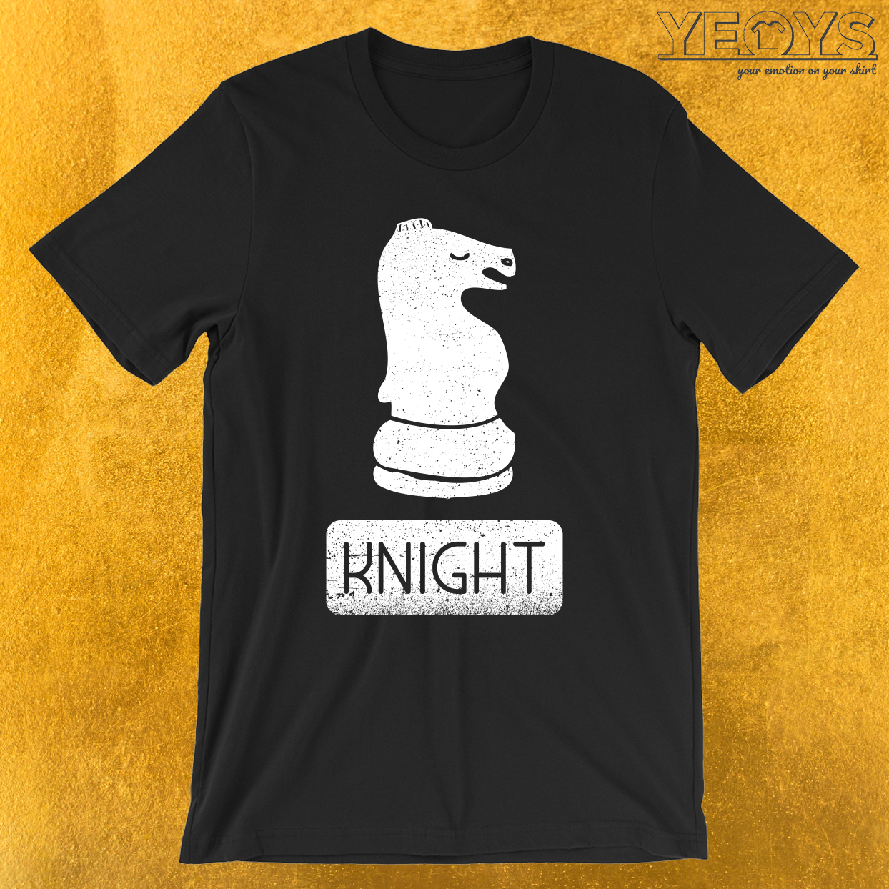 Knight Chess Piece T-Shirt