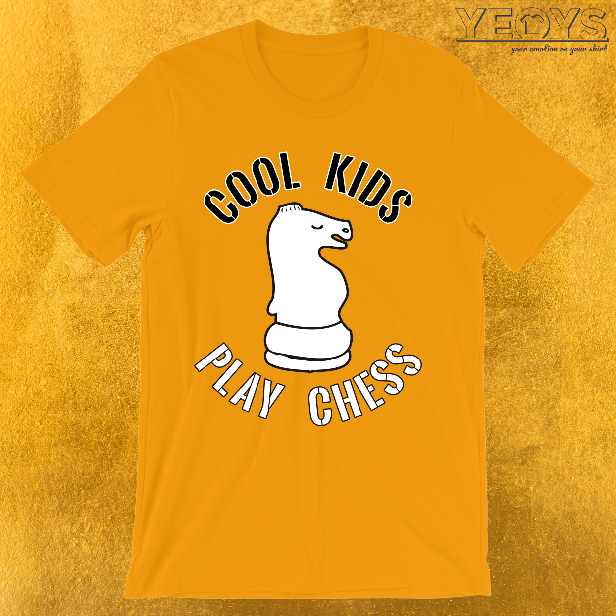 Cool Kids Play Chess Knight Piece T-Shirt