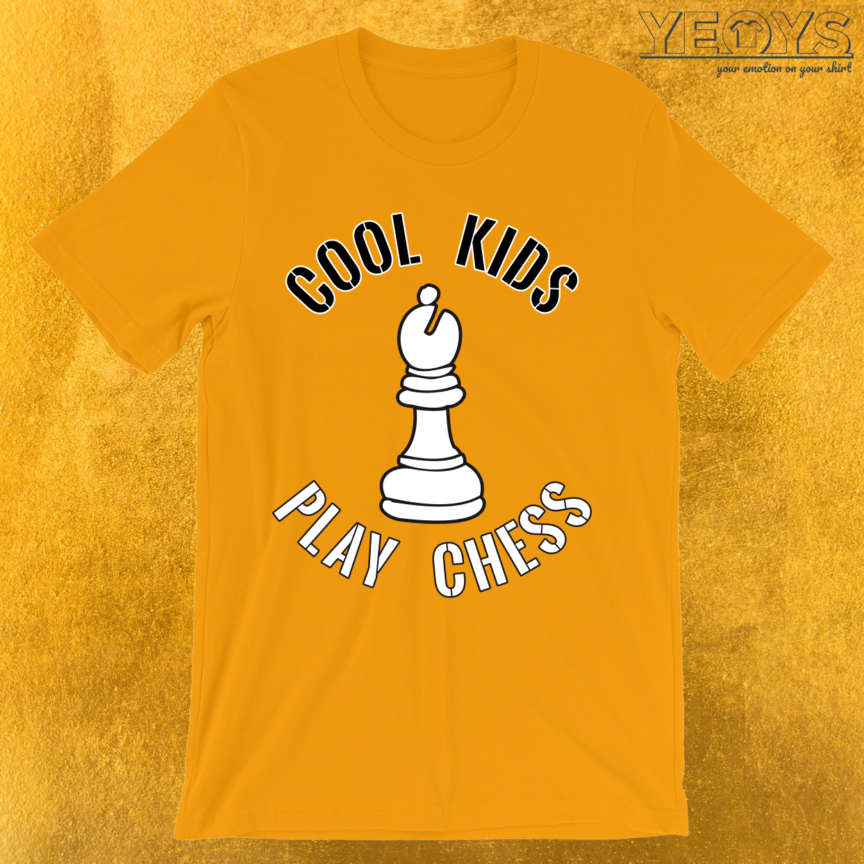 Cool Kids Play Chess Bishop Piece T-Shirt