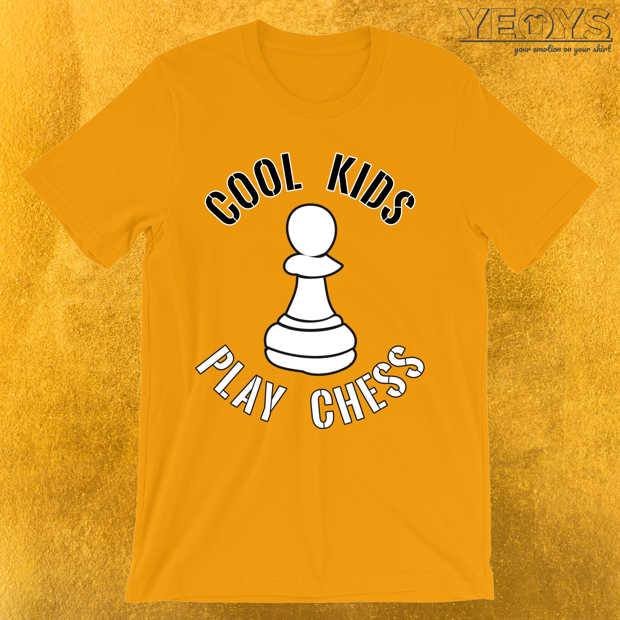 Cool Kids Play Chess Pawn Piece T-Shirt