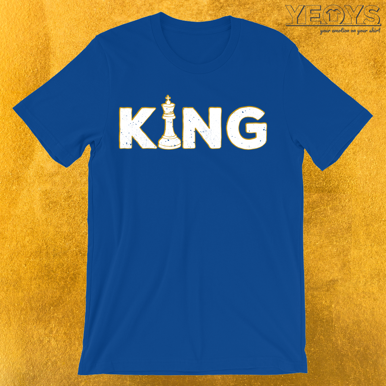 King Chess Piece T-Shirt