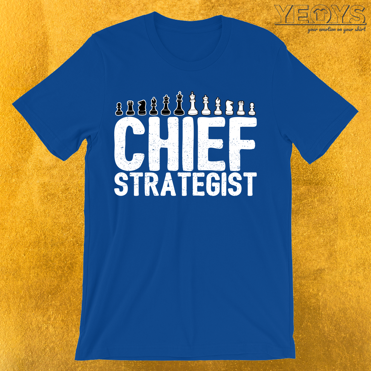 Chief Strategist Chess Master T-Shirt