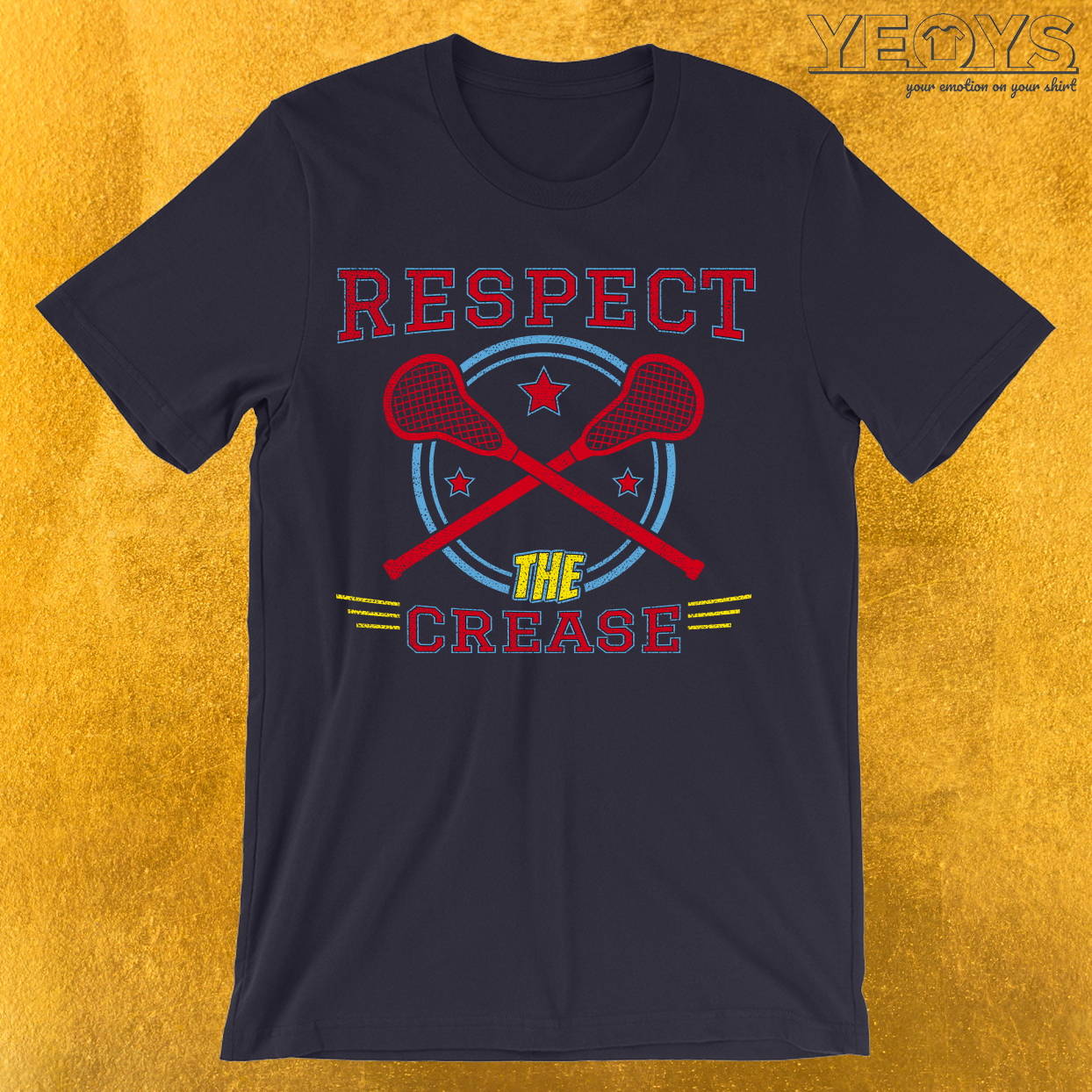 Respect The Crease T-Shirt