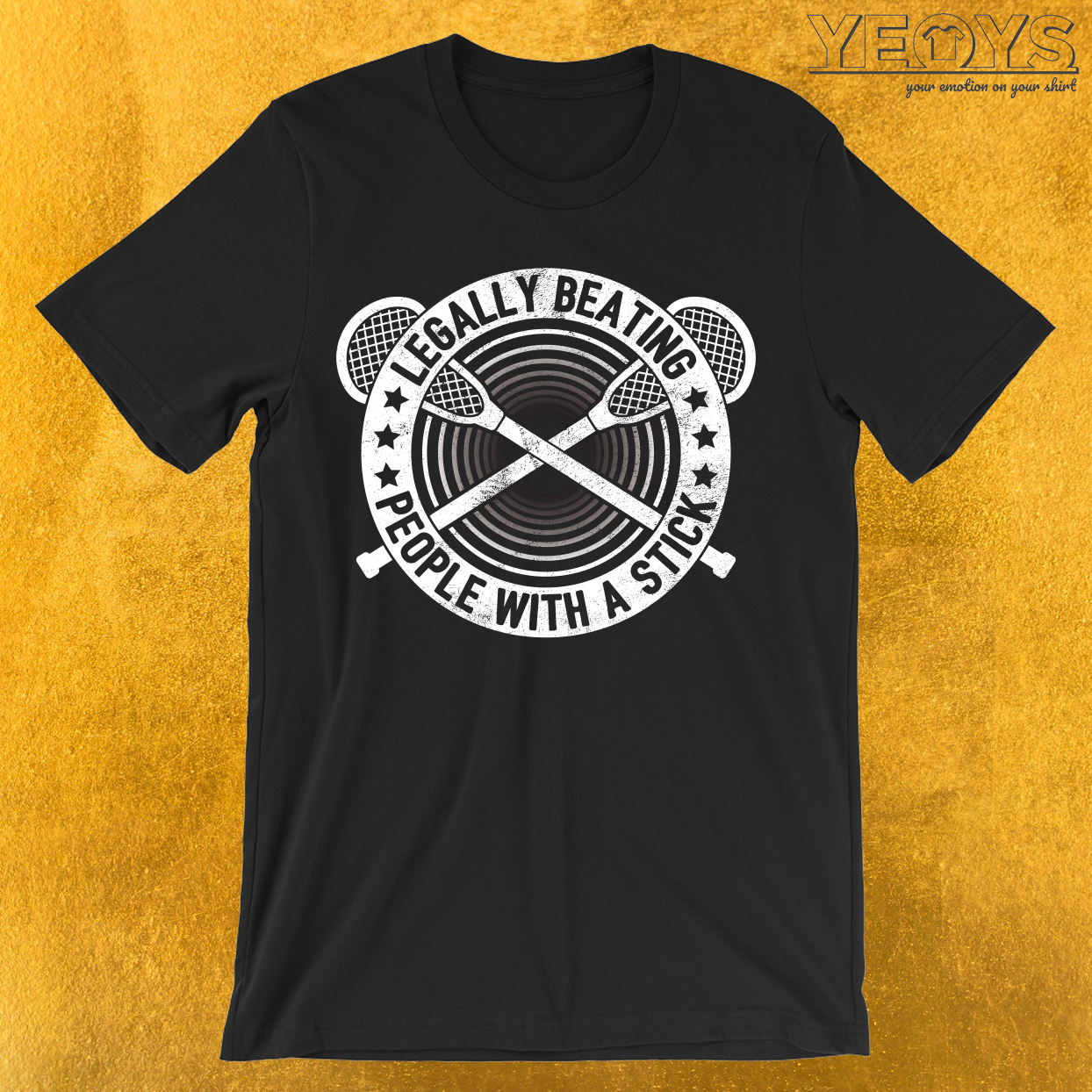 Legally Beating People With Sticks T-Shirt