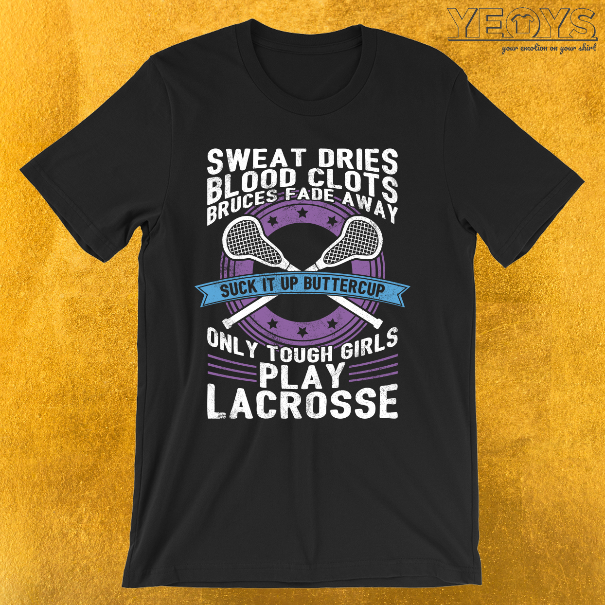 Buttercup Tough Girls Lacrosse T-Shirt