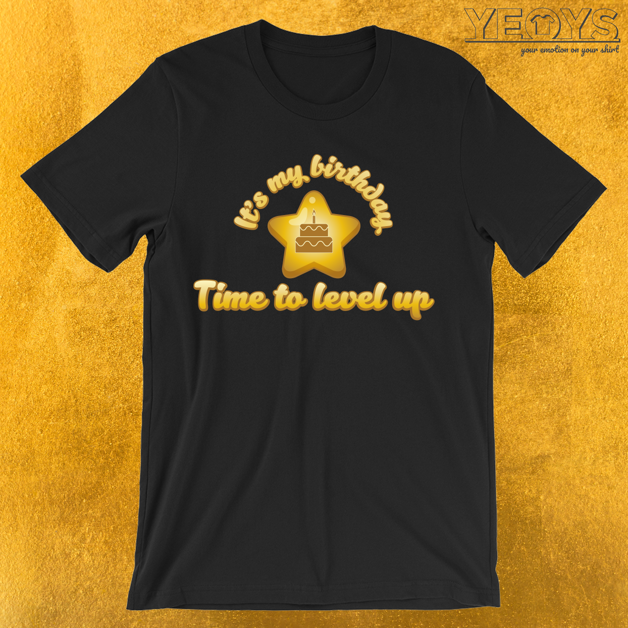 It's My Birthday Time To Level Up T-Shirt