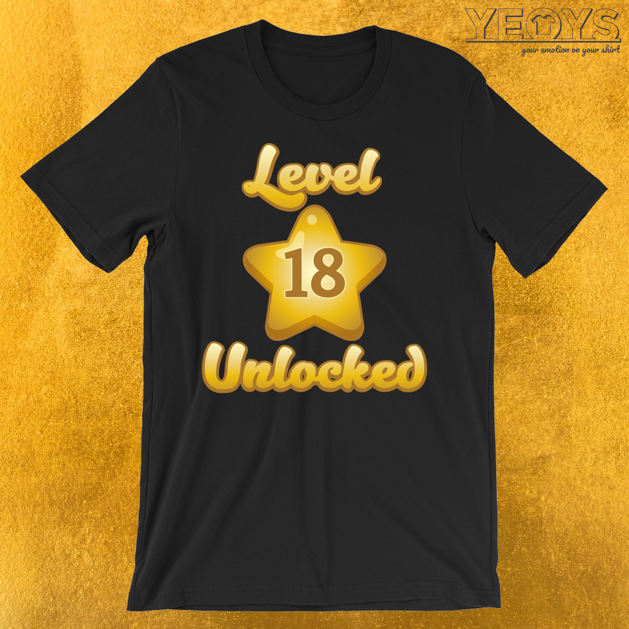 Level 18 Unlocked T-Shirt