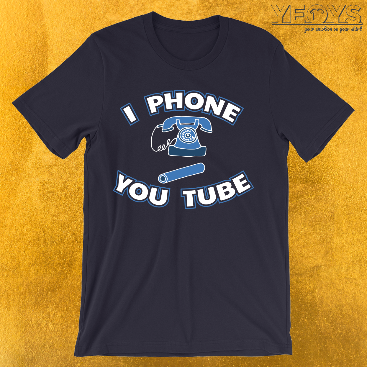 I Phone You Tube T-Shirt