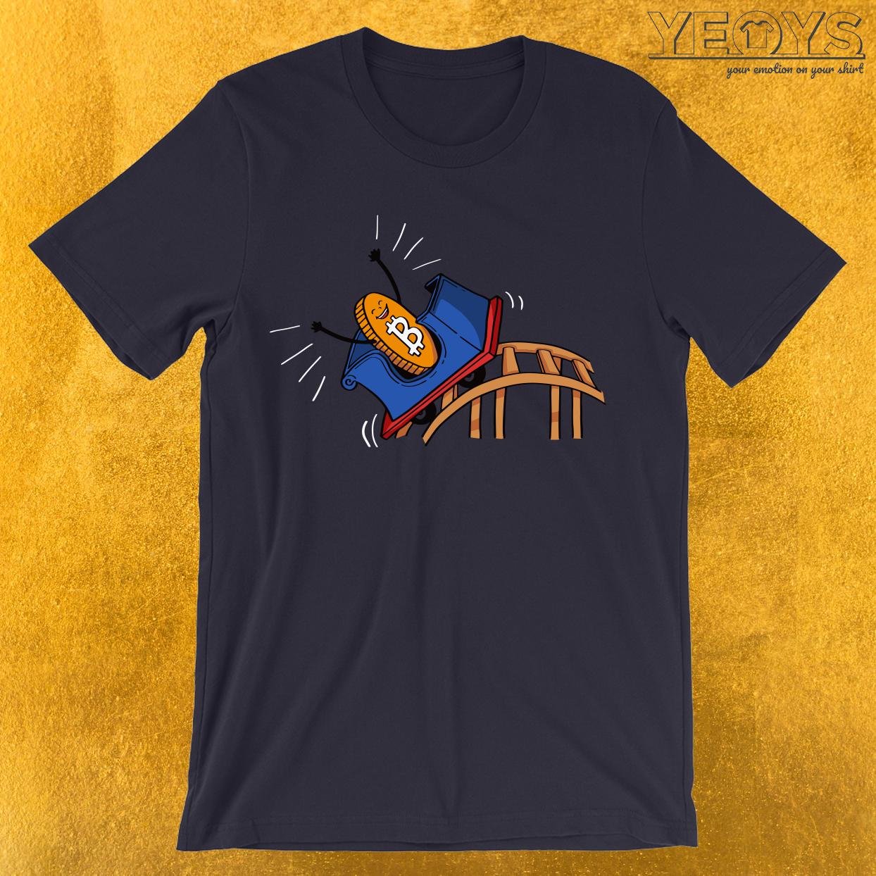 Bitcoin Rollercoaster T-Shirt