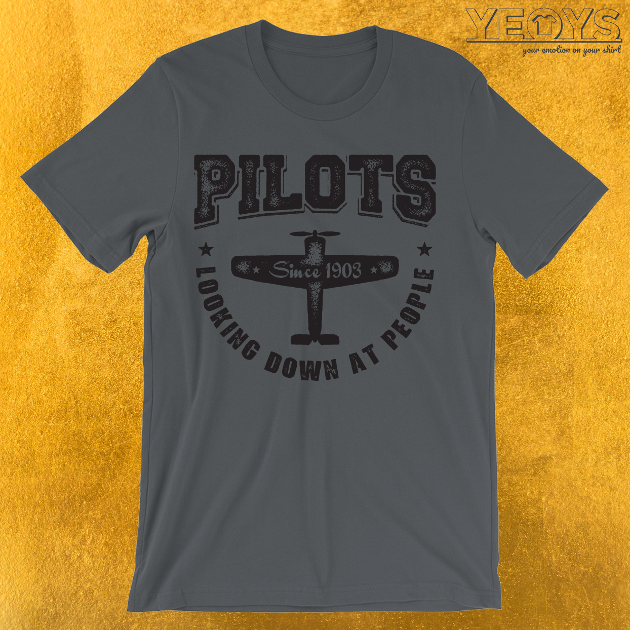 Pilots Looking Down At People T-Shirt