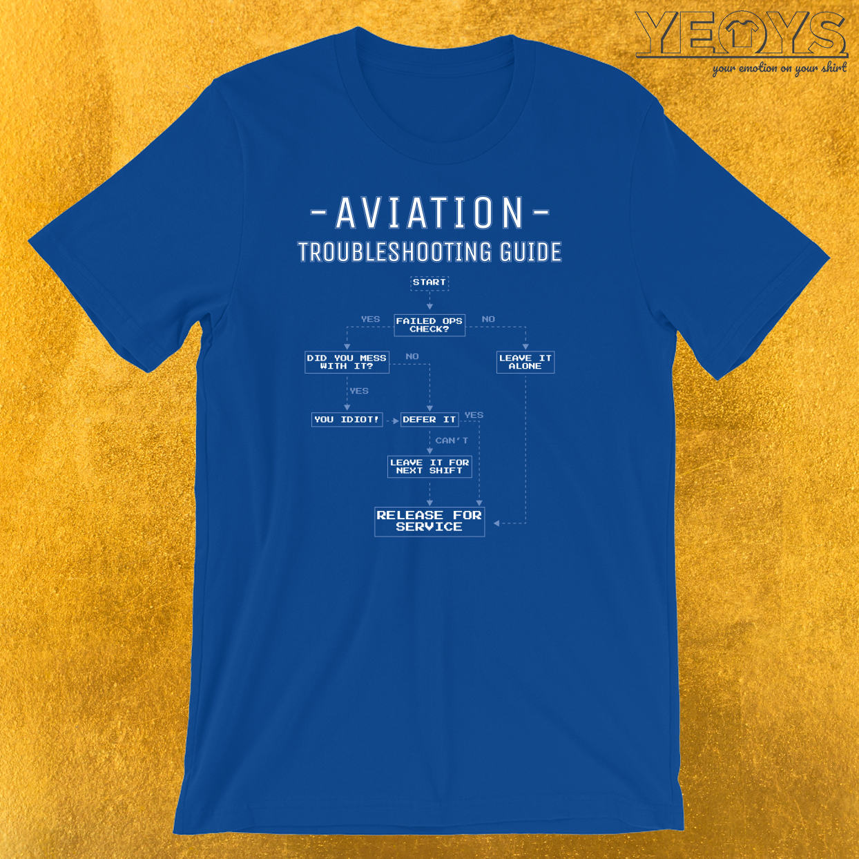 Aviation Troubleshooting Guide T-Shirt