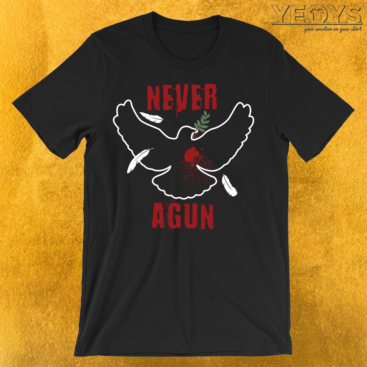Never Agun T-Shirt