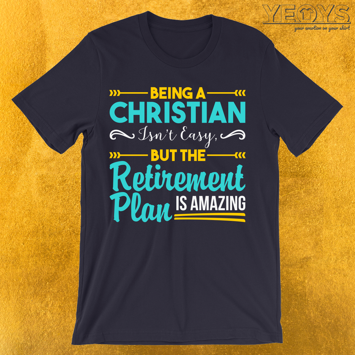 The Retirement Plan Is Amazing T-Shirt