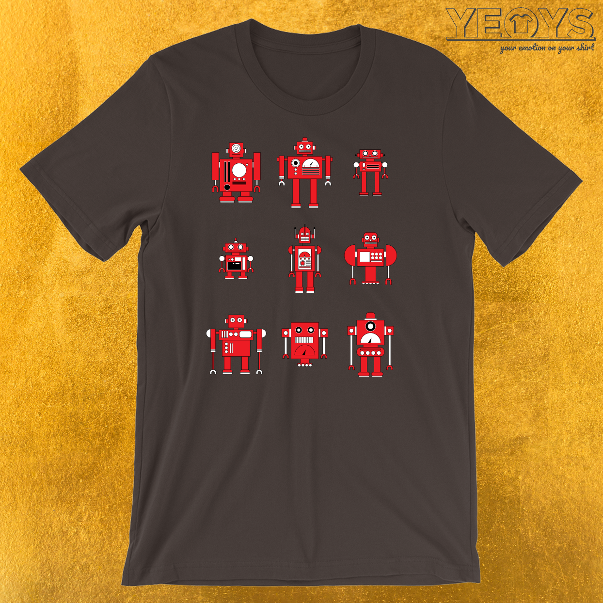 Retro Robotics T-Shirt