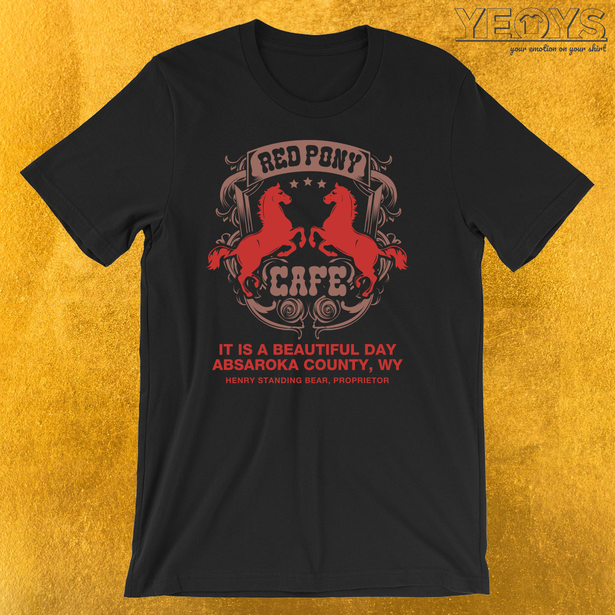 Red Pony Café T-Shirt