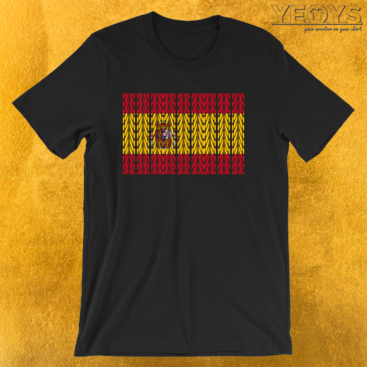Spain Flag Mountainbike – Funny Bike Quote Tee