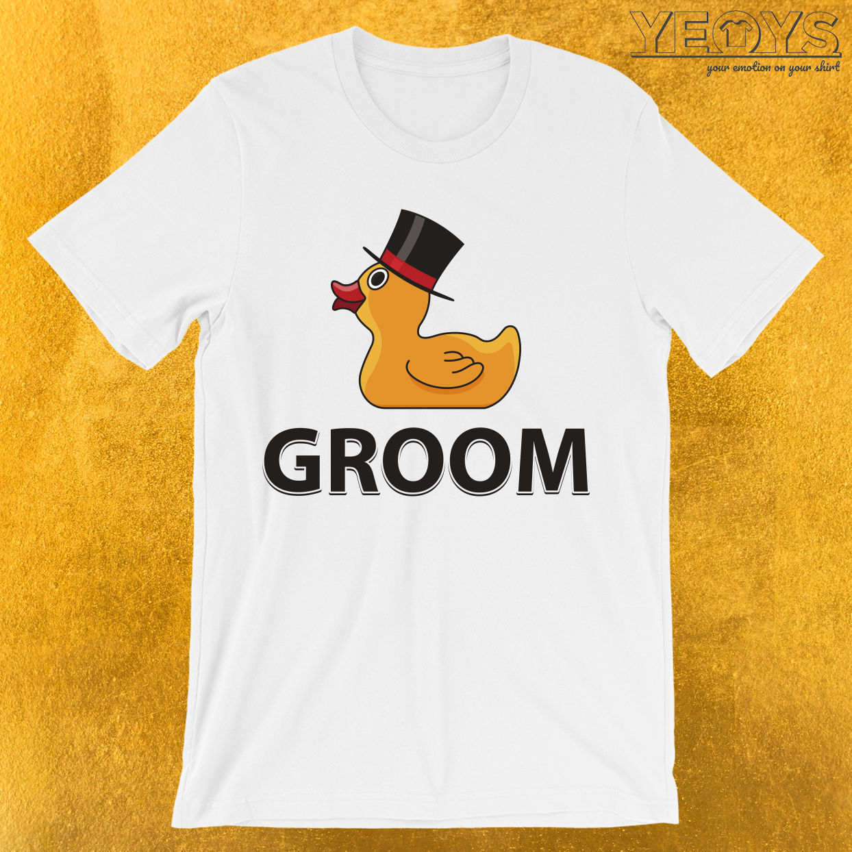Groom Rubberduck T-Shirt