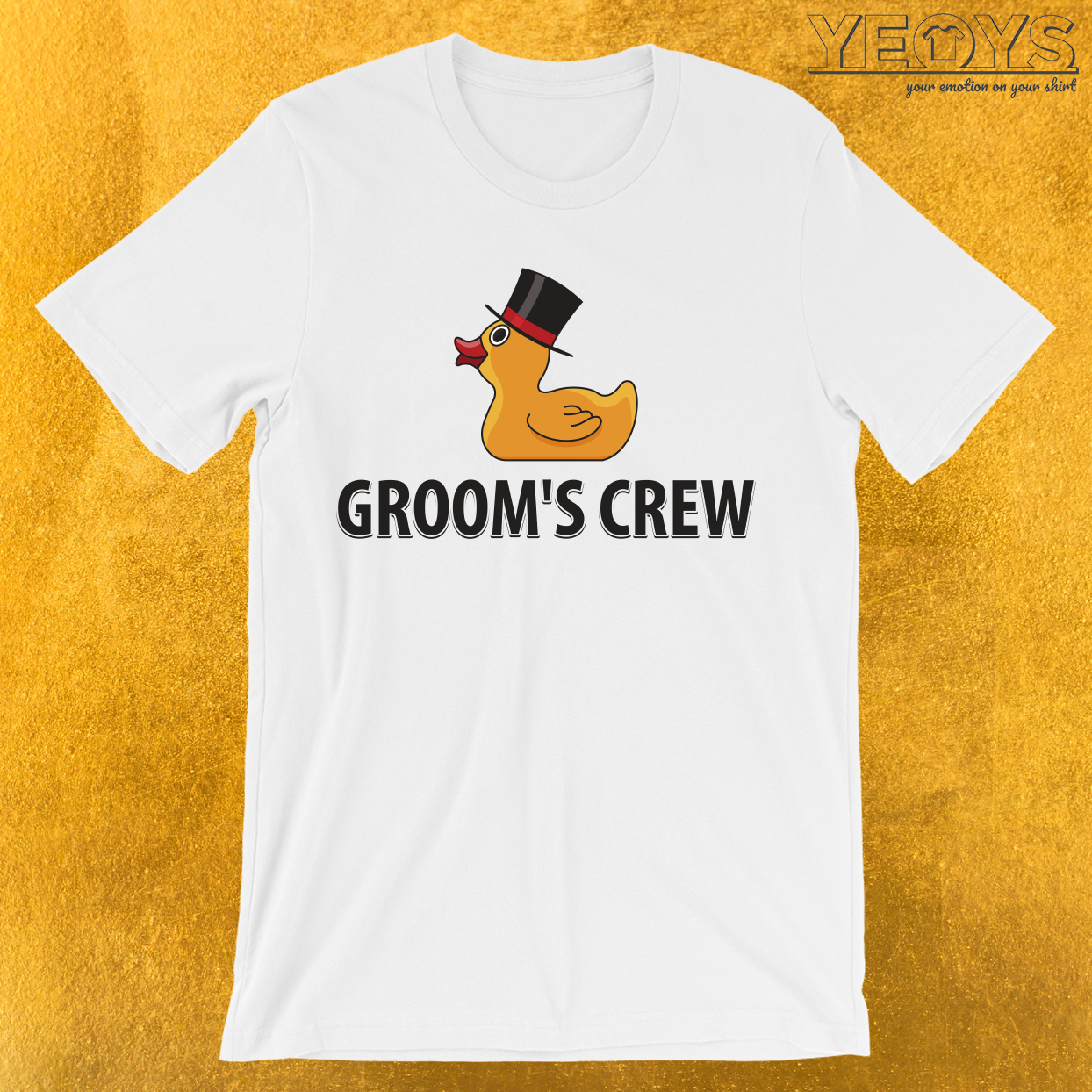 Groom's Crew Rubberducks  T-Shirt