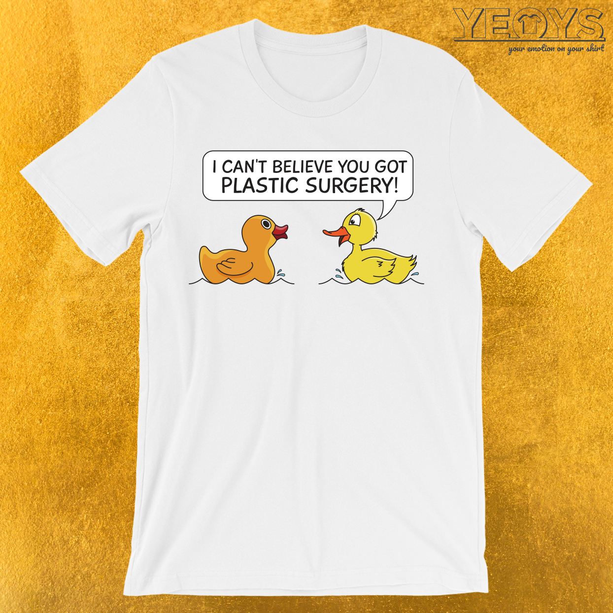 Plastic Surgery Rubberduck T-Shirt