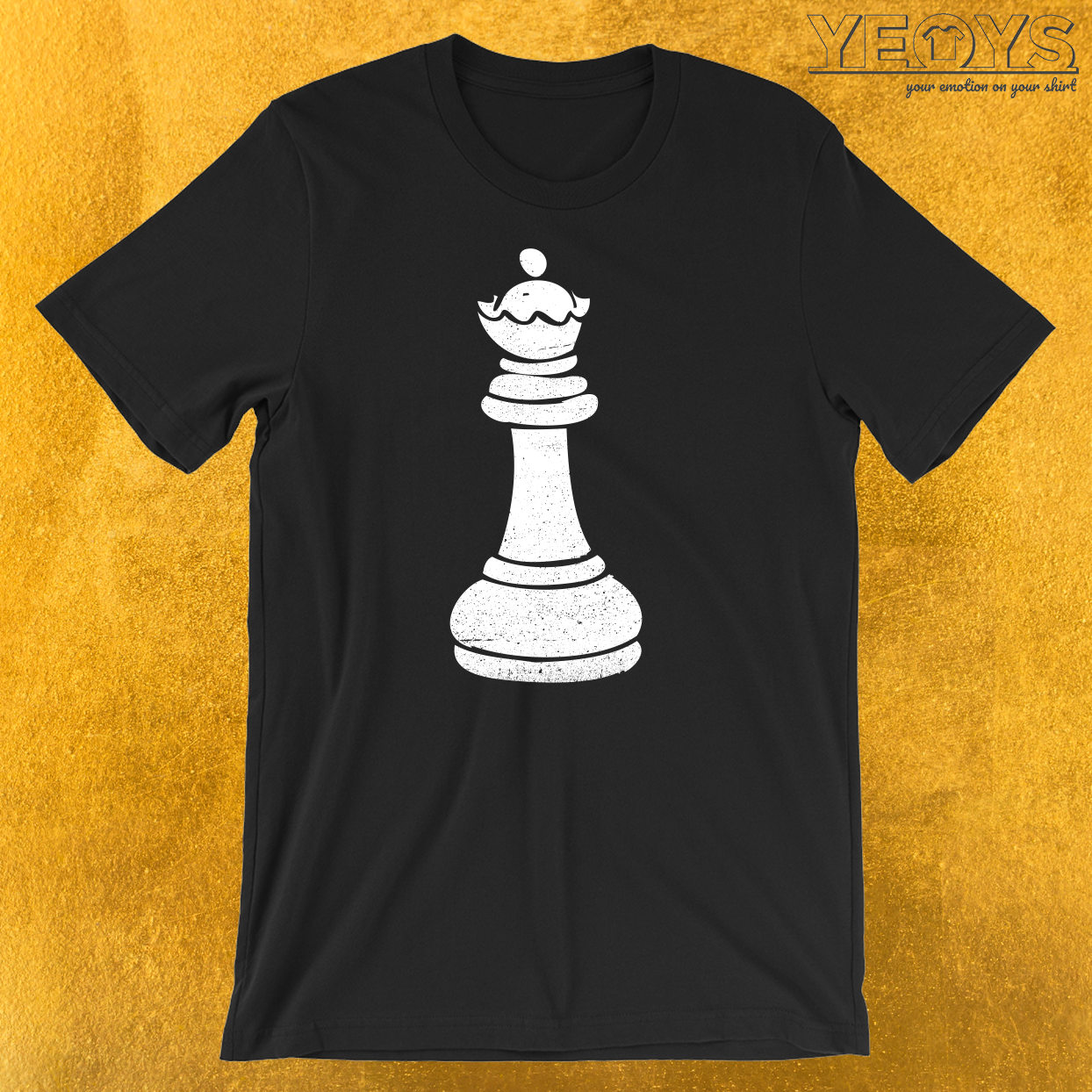 Queen Chess Piece T-Shirt