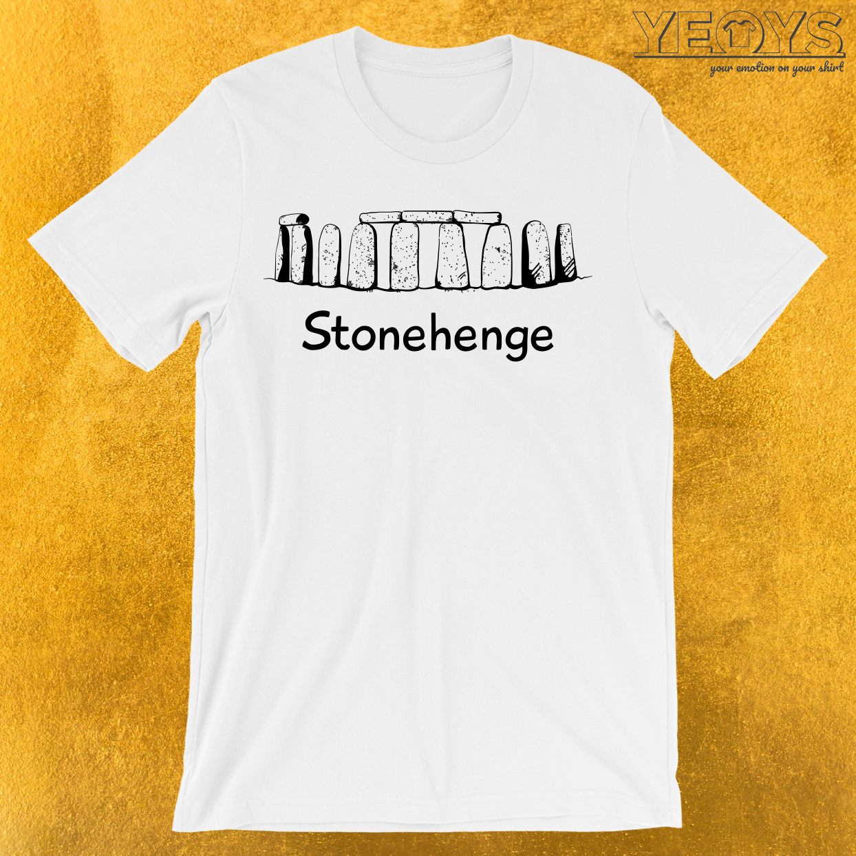 Stonehenge Rock Monument T-Shirt