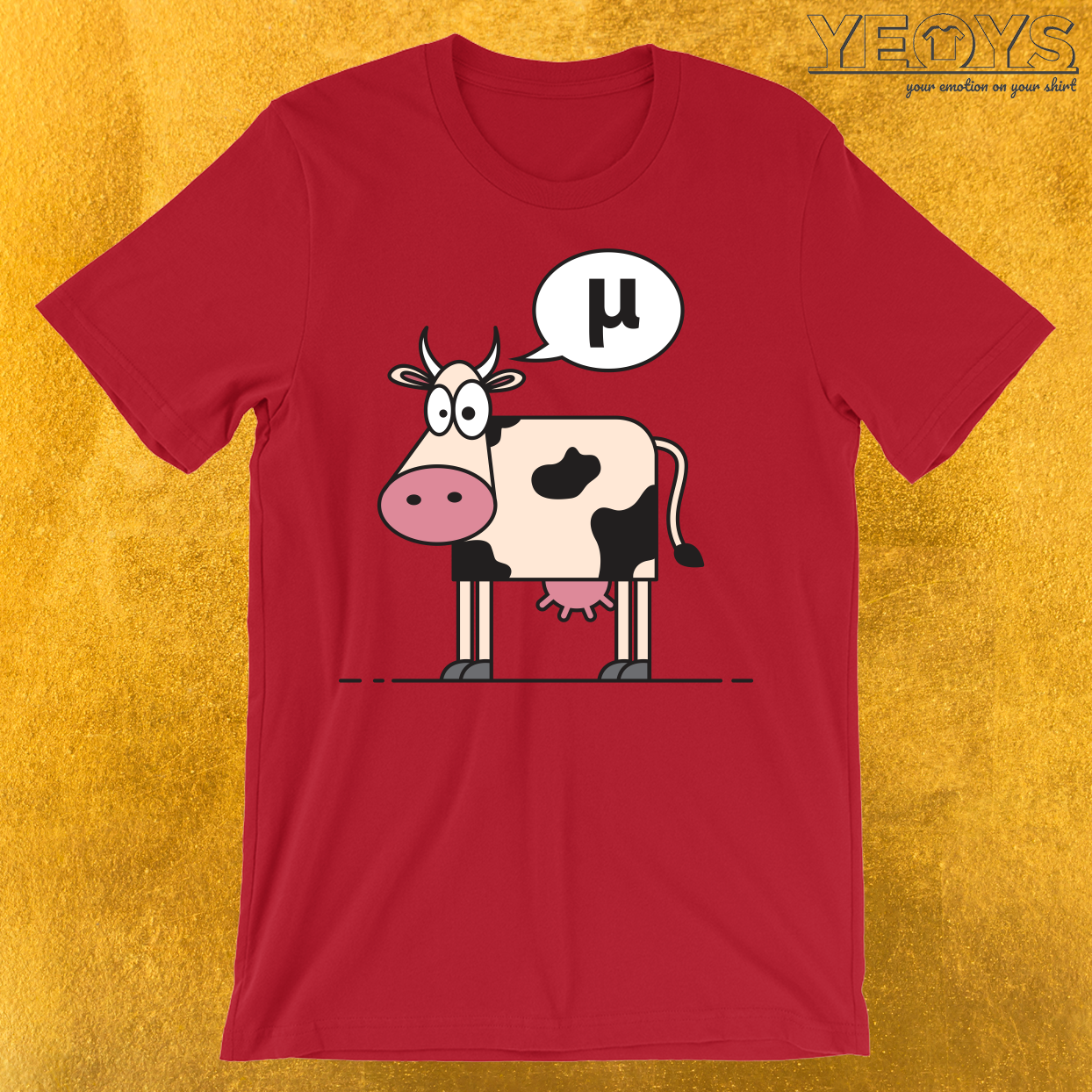 What Does A Greek Cow Say T-Shirt