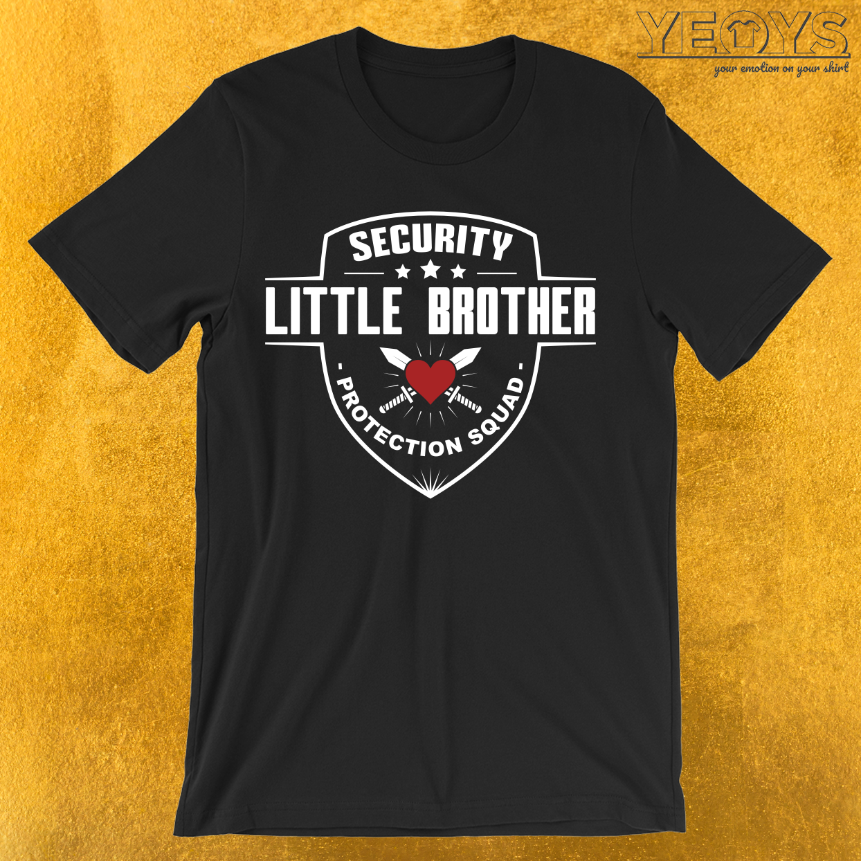 Security Little Brother Protection Squad T-Shirt