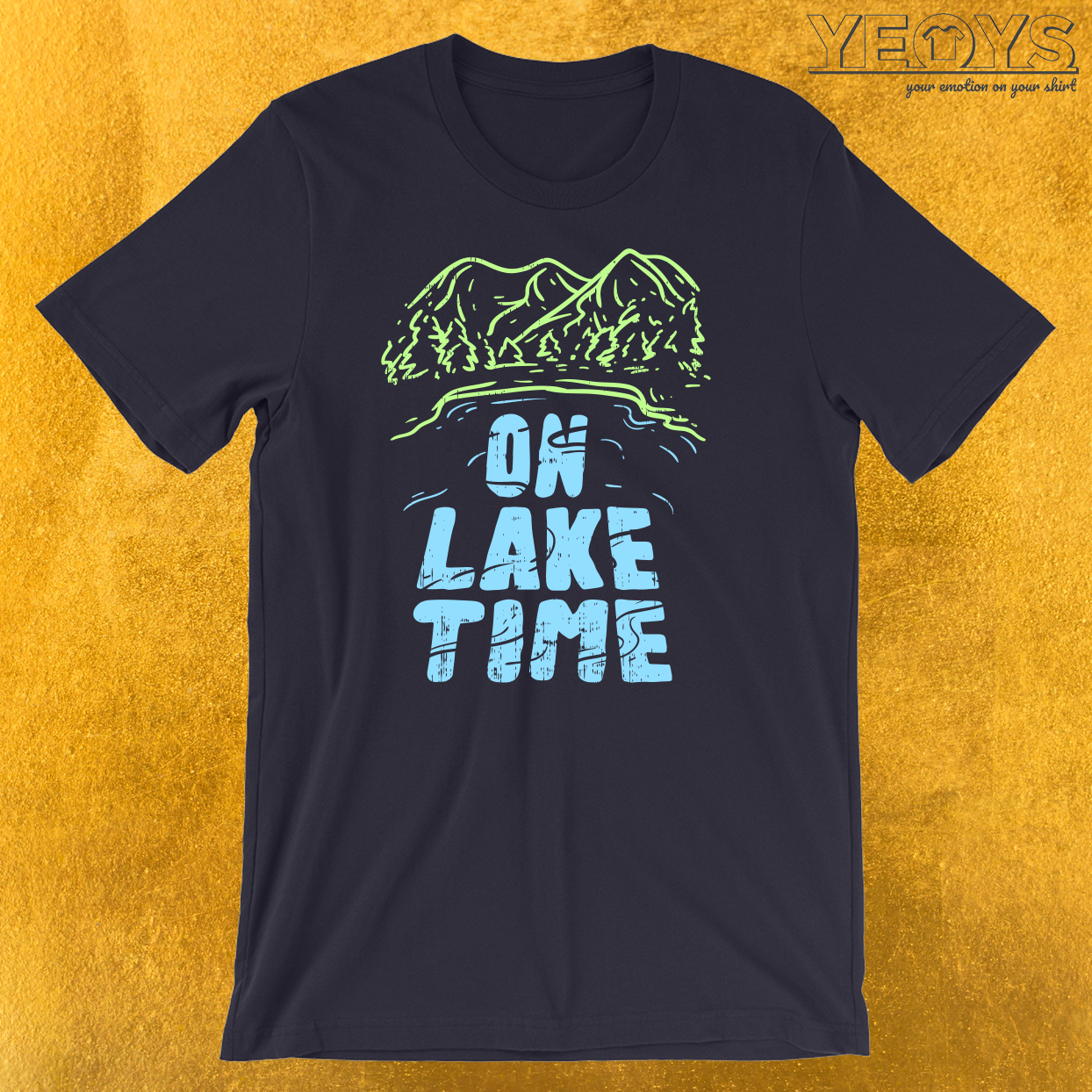 On Lake Time T-Shirt