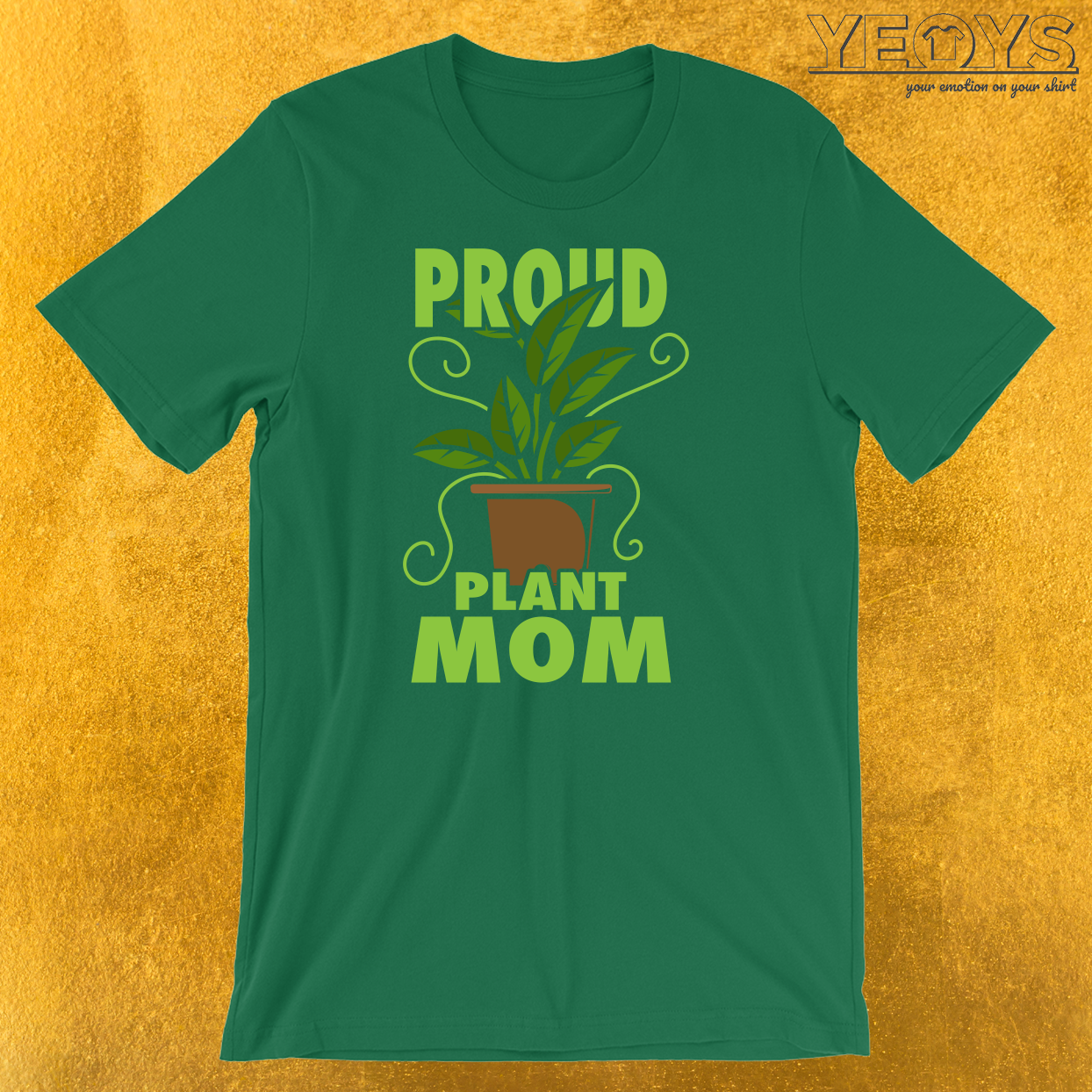 Proud Plant Mom T-Shirt