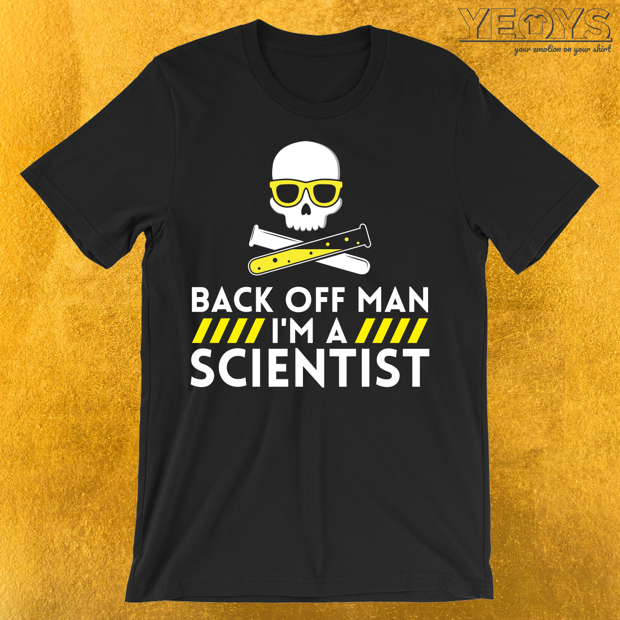 Back Of Man I'm A Scientist T-Shirt