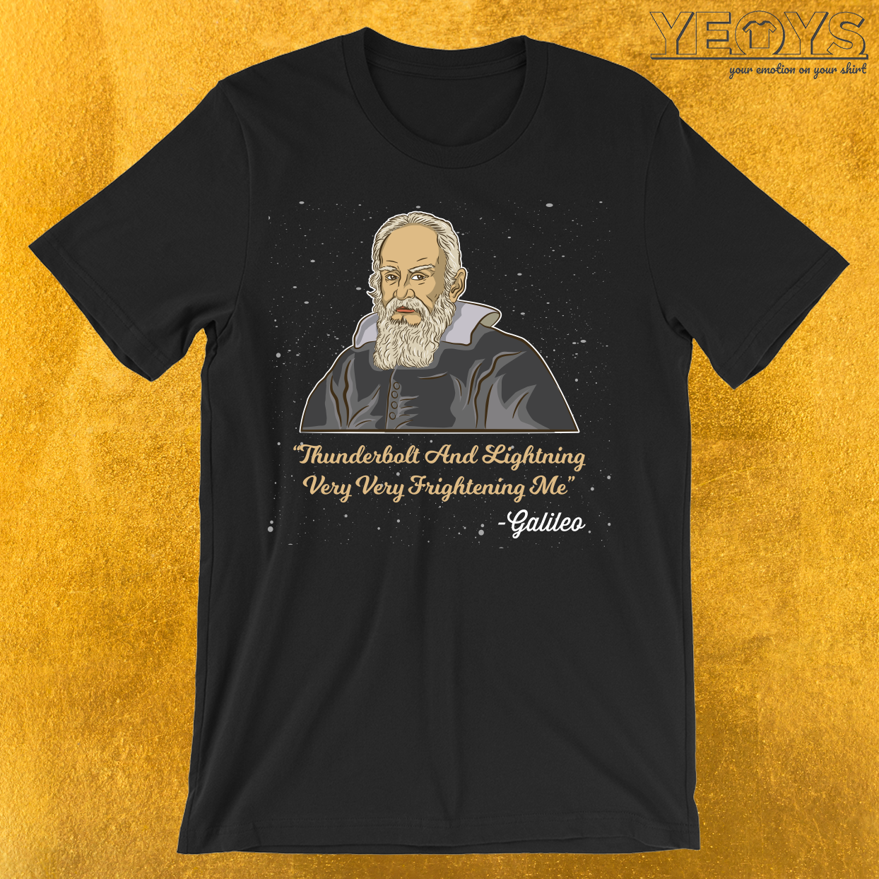 Thunderbolt And Lightning Galileo T-Shirt