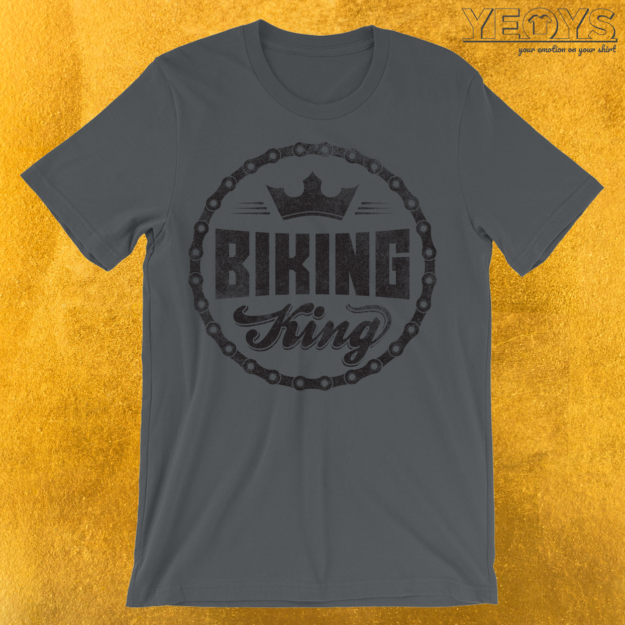 Biking King Biking Couple T-Shirt