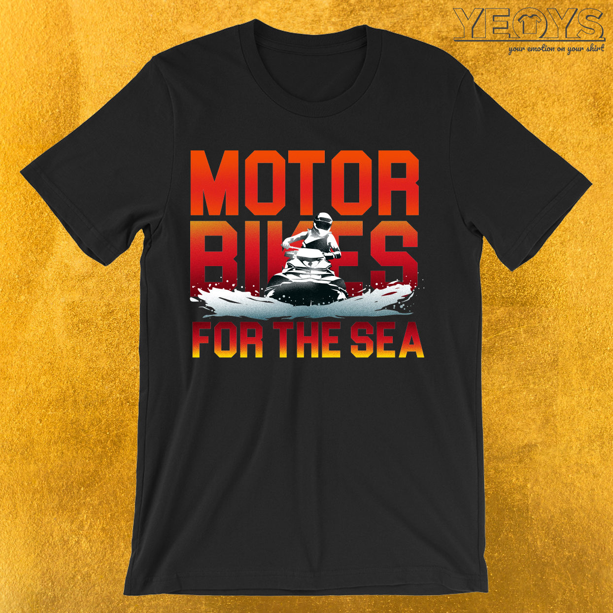 Motorbikes For The Sea T-Shirt