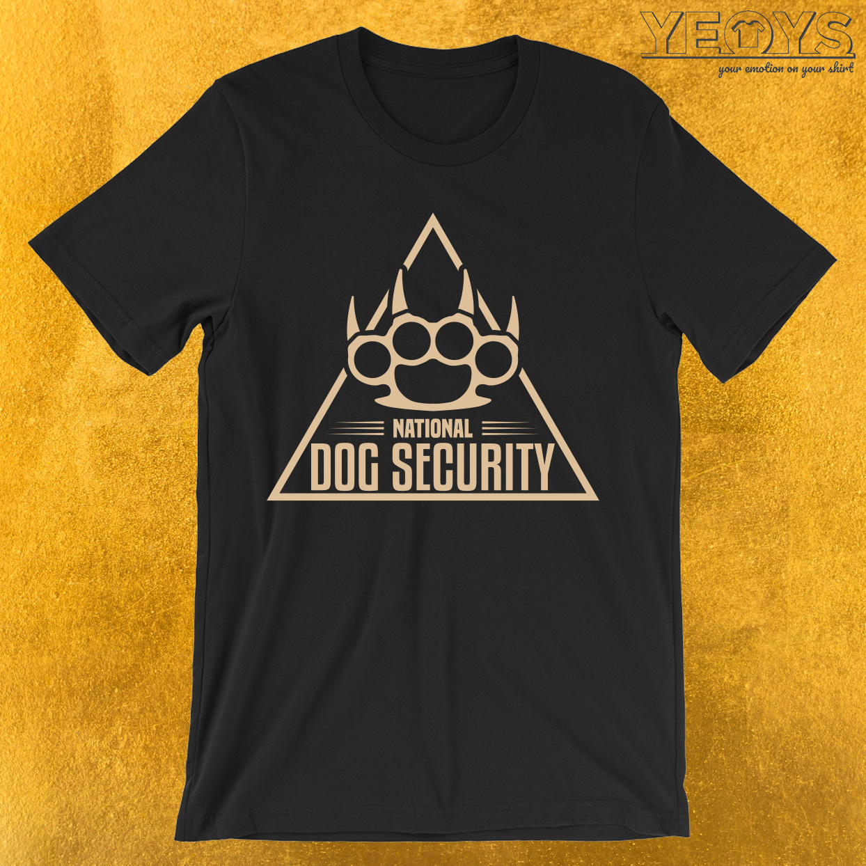 National Dog Security T-Shirt